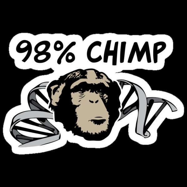 98% Chimp by Brooke Ottley