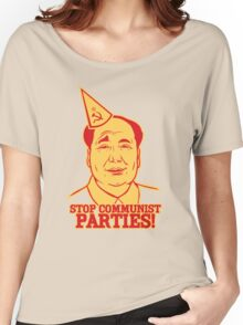 Stop Communist Parties Women's Relaxed Fit T-Shirt