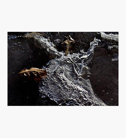 Ice Shape Photographic Print