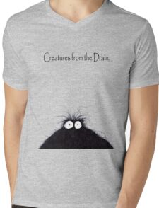 the creatures from the drain 8 Mens V-Neck T-Shirt