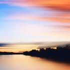 Sunset on the Mississippi by Angela King-Jones