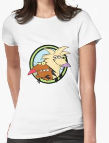 The Angry Beavers Womens Fitted T-Shirt