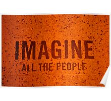 Imagine all the people  Poster