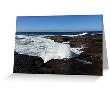 Little Beach NSW Central Coast 1 Greeting Card