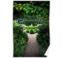 Poetry Garden Poster