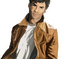 Leather Jacket by Skot  Schuler