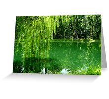 Green Life Greeting Card