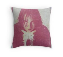 Homage to Georgia Throw Pillow