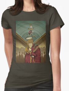 Smoke Womens Fitted T-Shirt