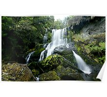 Champagne Falls - Cradle Mountain (near Lemonthyme Lodge), Tasmania Poster