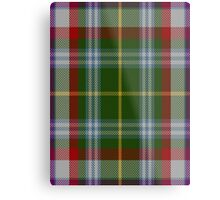 00112 Fredericton District Tartan  Metal Print