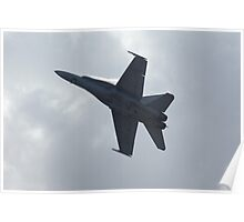 F-18 display Poster