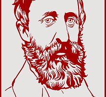Henry David Thoreau by LibertyManiacs