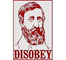 Henry David Thoreau Photographic Print