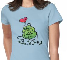 Broken Hearted Frog Womens Fitted T-Shirt