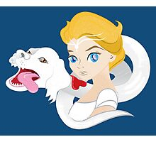 Child-like empress and falcor Photographic Print