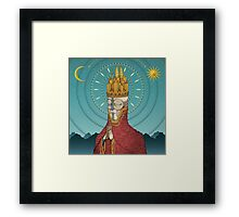 The Incongruent Framed Print