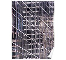 Manhattan reflection 3 Poster