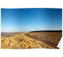Holkham Dunes Poster