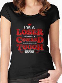 Loser - BIGBANG Lyrics Women's Fitted Scoop T-Shirt