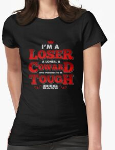 Loser - BIGBANG Lyrics Womens Fitted T-Shirt