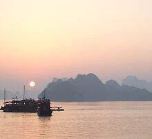 Dusk - Halong Bay, Vietnam by BreeDanielle