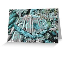 Edited Colourful Rope Greeting Card