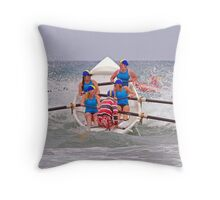 Torquay Temptations at Anglesea Throw Pillow
