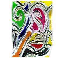 Abstract Doodle Poster