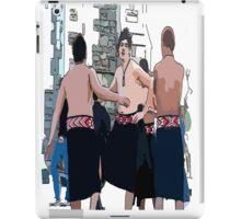 Maori Boys dancers iPad Case/Skin