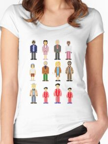 The Royal Pixelbaums Women's Fitted Scoop T-Shirt