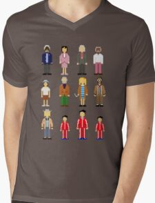 The Royal Pixelbaums Mens V-Neck T-Shirt