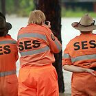 SES volunteers by Kym Howard