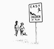 Easy...Children at play... Mens V-Neck T-Shirt