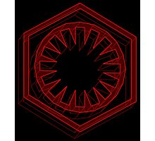 Star Wars First Order Red - 1 Photographic Print