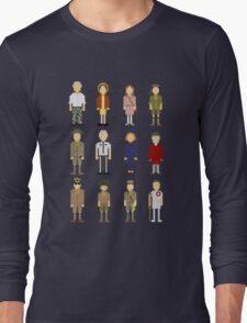 Moonrise Pixeldom Long Sleeve T-Shirt