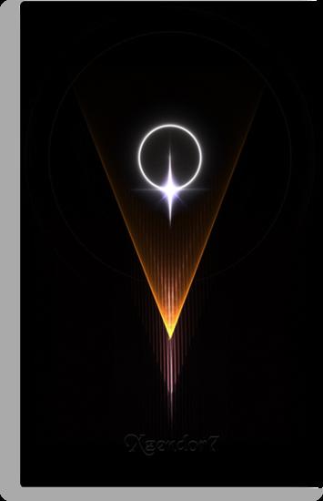 Star Eclipse Diamond Wedge by xzendor7