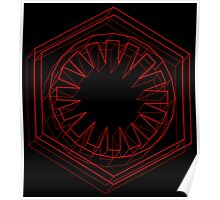 Star Wars First Order Red - 2 Poster