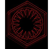 Star Wars First Order Red - 2 Photographic Print
