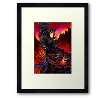 The Fated Hour Framed Print