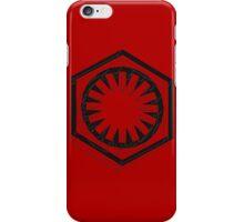 Star Wars First Order Black iPhone Case/Skin