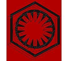 Star Wars First Order Black Photographic Print