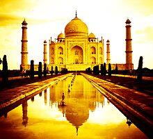 Taj Mahal by PhotAsia