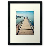 Step towards Komodo Framed Print