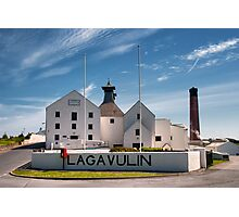 Islay: Lagavulin Photographic Print