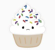 Vanilla Cupcake (Sticker) by Erika Martinez