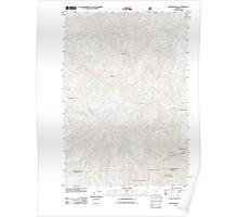 USGS Topo Map Oregon Rooster Rock 20110811 TM Poster