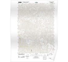 USGS Topo Map Oregon Clay Creek 20110902 TM Poster