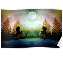 Moon Light Dance ©  Poster