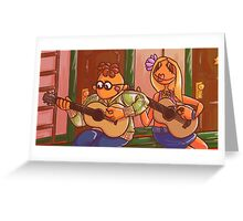 six string orchestra Greeting Card
